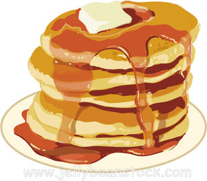 Free clipart pancakes vector freeuse library 74+ Pancakes Clip Art | ClipartLook vector freeuse library