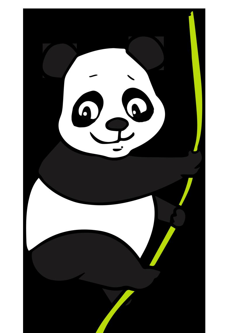 Clipart panda svg download Clip art panda - ClipartFest svg download
