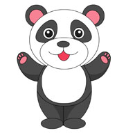 Clipart panda graphic freeuse Free Panda Clipart - Clip Art Pictures - Graphics - Illustrations graphic freeuse