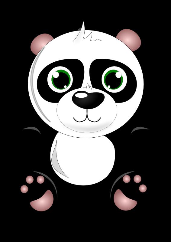 Clipart panda image library library Panda Bear Clipart - Clipart Kid image library library