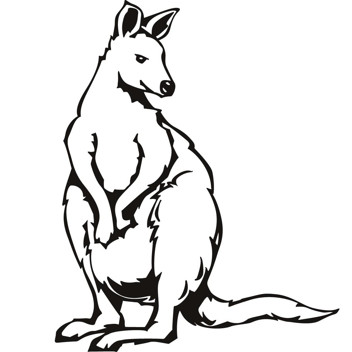 Clipart panda alphabet letter k clip art transparent download early play templates australian animals simple kangaroos. abc ... clip art transparent download