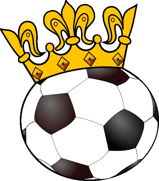 Clipart panda crown svg freeuse stock Soccer Ball With Crown Clip | Clipart Panda - Free Clipart Images svg freeuse stock
