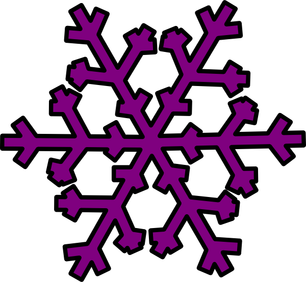 Purple and silver snowflake flower clipart svg royalty free stock Purple Snowflake Clipart | Clipart Panda - Free Clipart Images svg royalty free stock