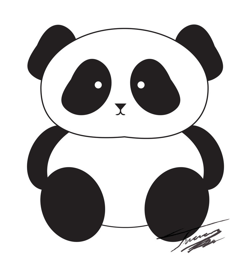 Pandas clipart clip art black and white library Free Panda Cliparts, Download Free Clip Art, Free Clip Art on ... clip art black and white library