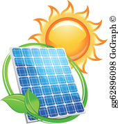 Solar energy clipart jpg freeuse library Solar Panel Clip Art - Royalty Free - GoGraph jpg freeuse library