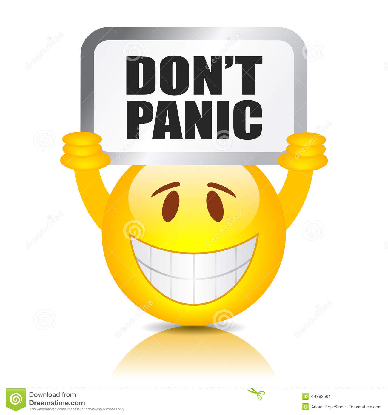 Clipart panic picture library Don\'t panic sign | Clipart Panda - Free Clipart Images picture library