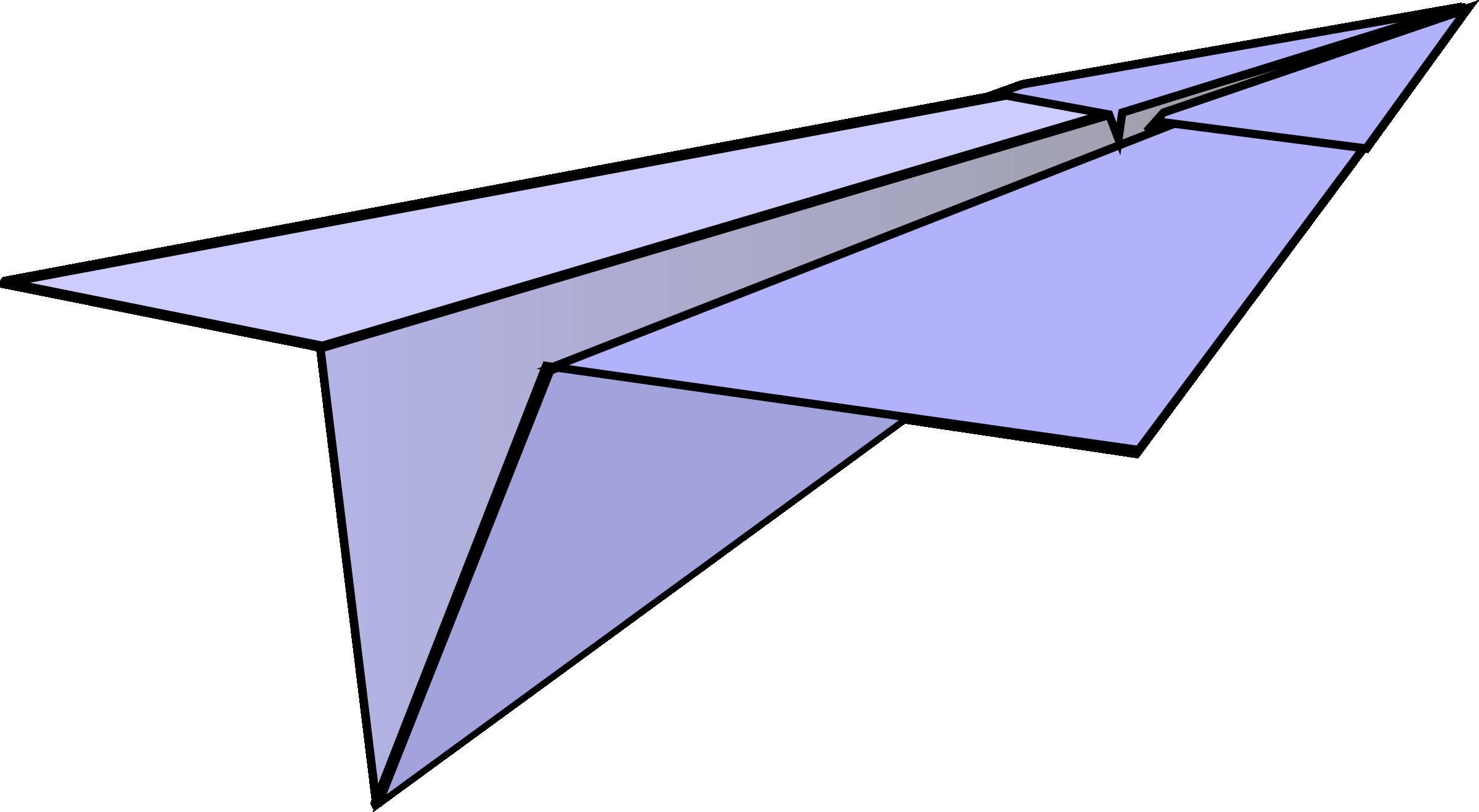 Paper airplane clipart with color - ClipartFest clipart transparent