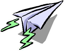Paper Airplane Clipart - Clipart Kid graphic transparent stock