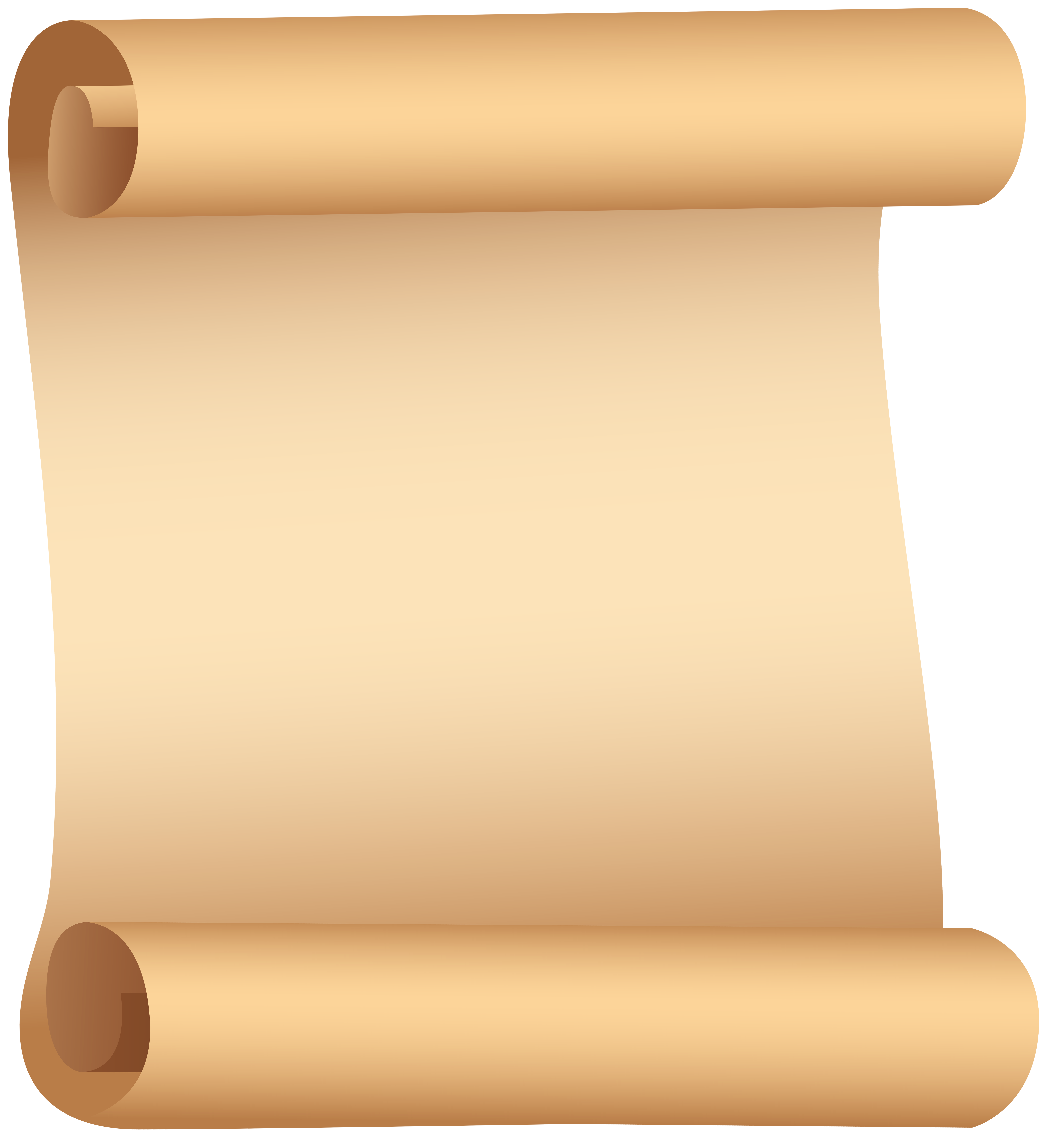 Clipart paper scroll graphic transparent library Paper Scroll PNG Clip Art | Gallery Yopriceville - High-Quality ... graphic transparent library