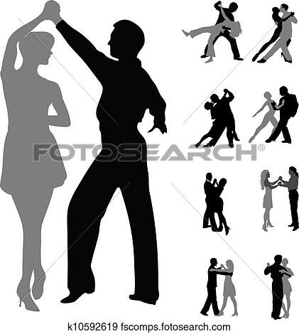 Clipart par der danser clip library download Clipart dansende par - ClipartFest clip library download