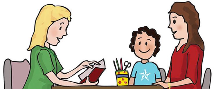 Parent teacher interview clipart graphic freeuse library 78+ Parent Teacher Conference Clip Art   ClipartLook graphic freeuse library