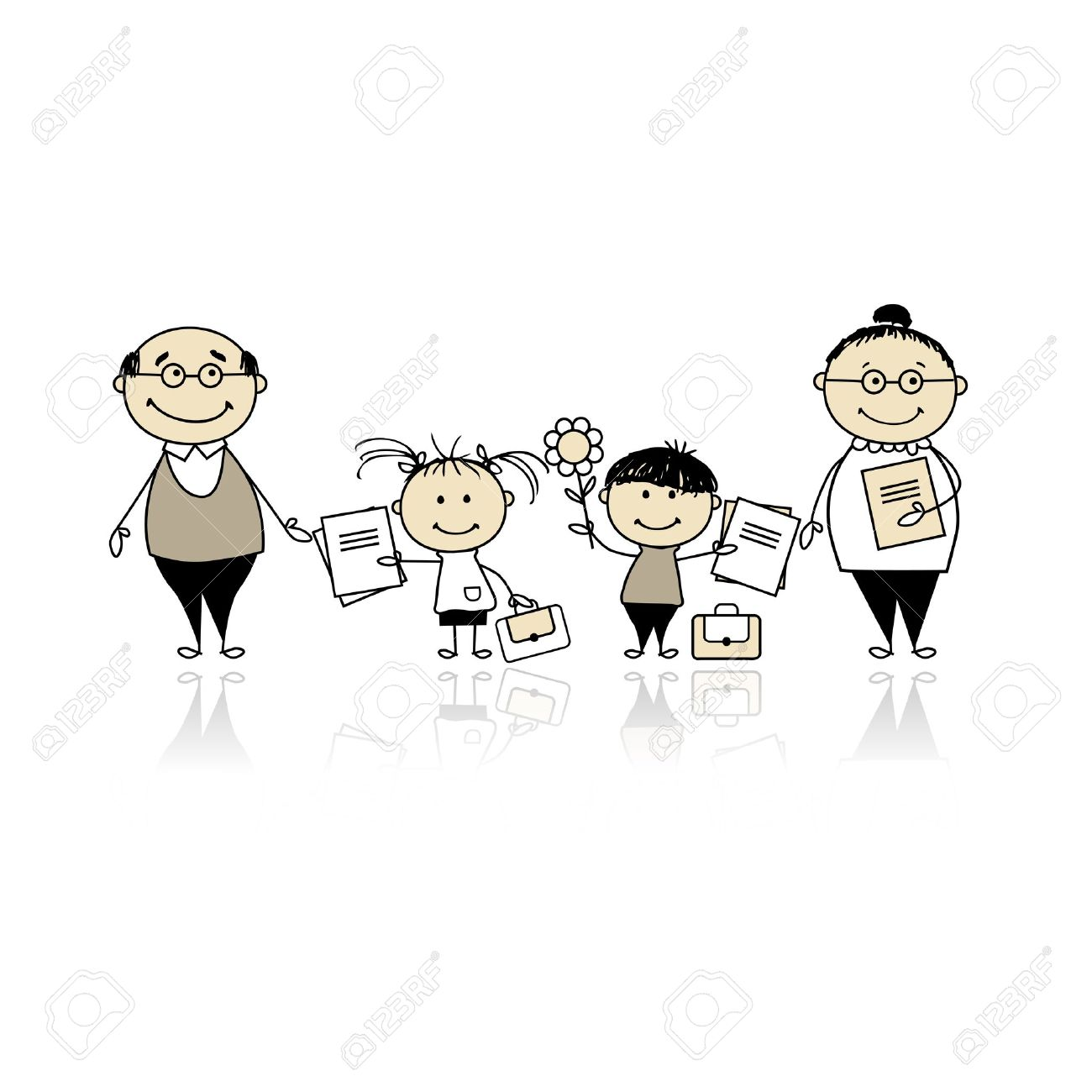 Clipart parent with kids image freeuse download Parent Hand Cliparts, Stock Vector And Royalty Free Parent Hand ... image freeuse download