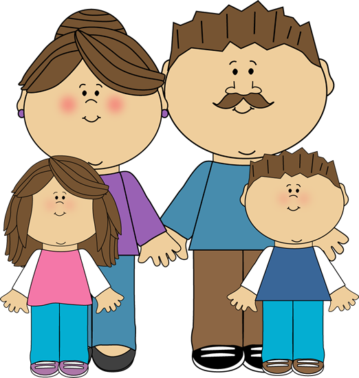 Clipart parent with kids clip art black and white download Clipart parent with kids - ClipartFest clip art black and white download