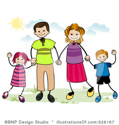 Clipart parent with kids picture black and white library Parent Clip Art & Parent Clip Art Clip Art Images - ClipartALL.com picture black and white library