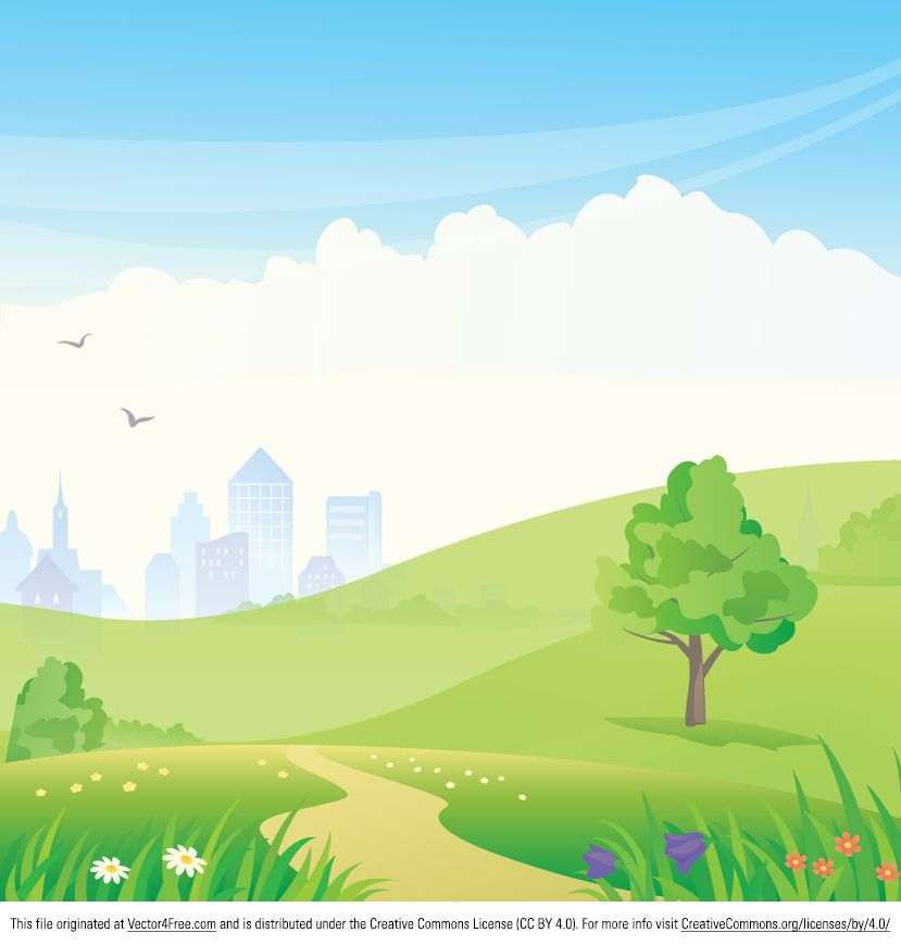 Clipart park background graphic library library Urban Park Vector good for Prezi backgrounds   Free Graphic Elements ... graphic library library