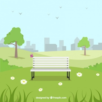 Clipart park background clip art black and white library Park Vectors, Photos and PSD files   Free Download clip art black and white library
