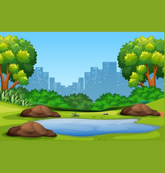 Clipart park background clip library library Park Background Clipart Vector Images (over 2,500) clip library library