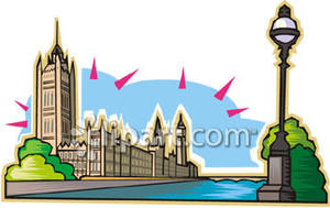 Clipart parliament picture library library House of Parliament In England - Royalty Free Clipart Picture picture library library