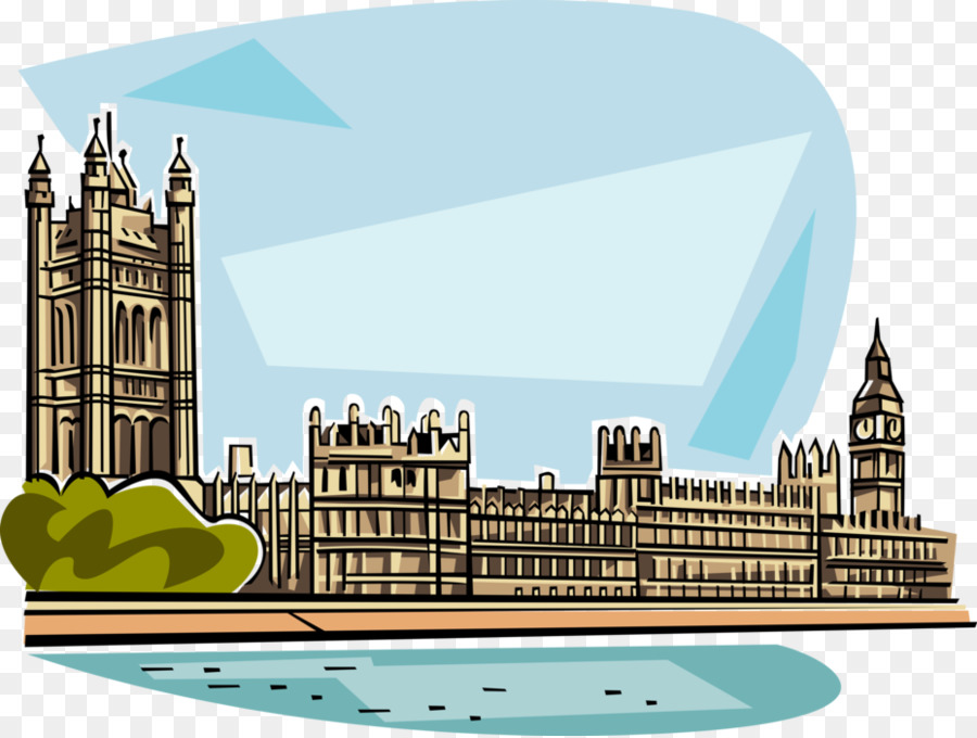 Clipart parliament banner black and white library Skyline City clipart - Illustration, House, City, transparent clip art banner black and white library