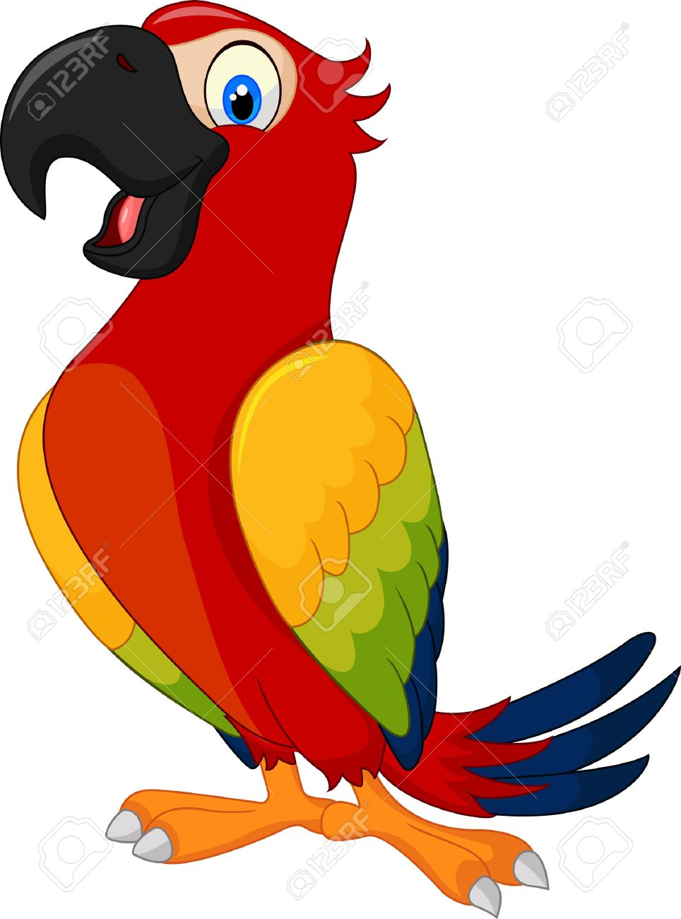 Clipart parrot pictures graphic library stock Clipart parrot 3 » Clipart Station graphic library stock