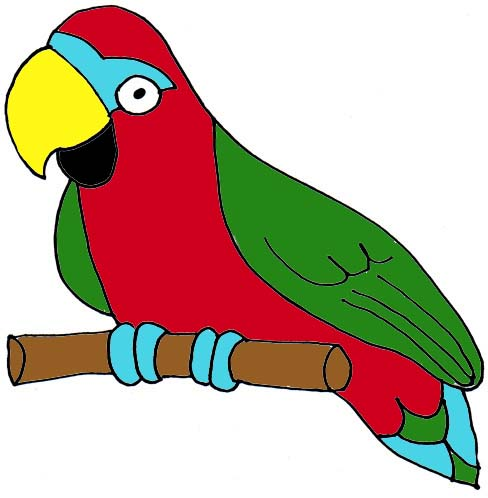 Clipart parrot pictures jpg transparent stock Free Parrot Cliparts, Download Free Clip Art, Free Clip Art on ... jpg transparent stock