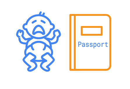 Clipart passport application form 2018 graphic library Indian Passport for New Born Baby or Minor – Photo, ECNR, Education ... graphic library