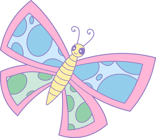 Clipart pastel clip freeuse library Pastel butterflies clipart - ClipartFest clip freeuse library