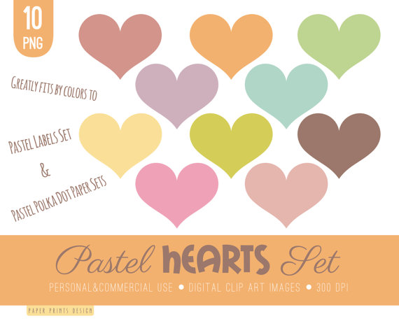 Clipart pastel banner freeuse stock 10 hearts clip art hearts clipart pastel clipart pastel banner freeuse stock