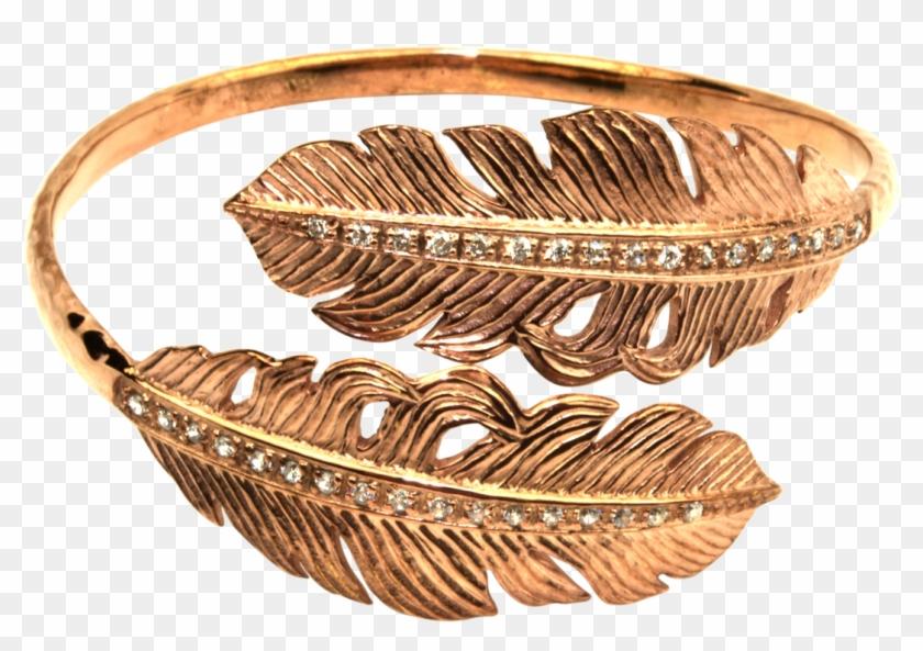 Clipart patli designs picture transparent download Gold Feather Png - Bangle, Transparent Png - 1073x707(#6527585 ... picture transparent download
