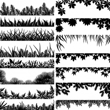 Toran clipart black and white picture free library Black and white leaf pattern free vector download (32,055 Free ... picture free library
