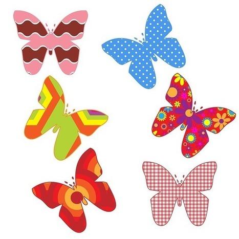 Scoop it butterfly butterflies. Clipart patterns free
