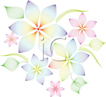 Clipart patterns free png transparent stock Floral pattern clip art - ClipartFest png transparent stock