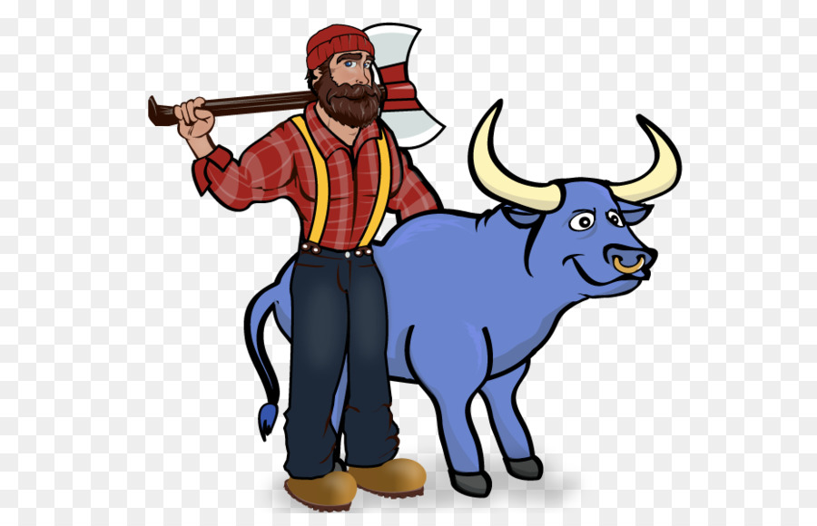 Clipart paul bunyan png free Drawing Of Family png download - 611*566 - Free Transparent Paul ... png free
