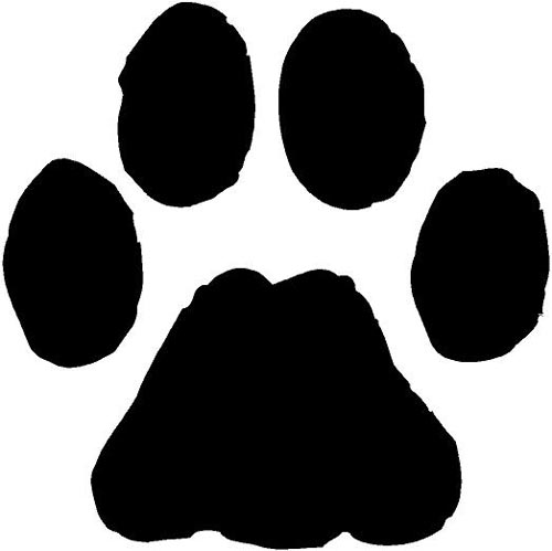 Clipart paw prints dog banner black and white Free Dog Paw Print, Download Free Clip Art, Free Clip Art on Clipart ... banner black and white