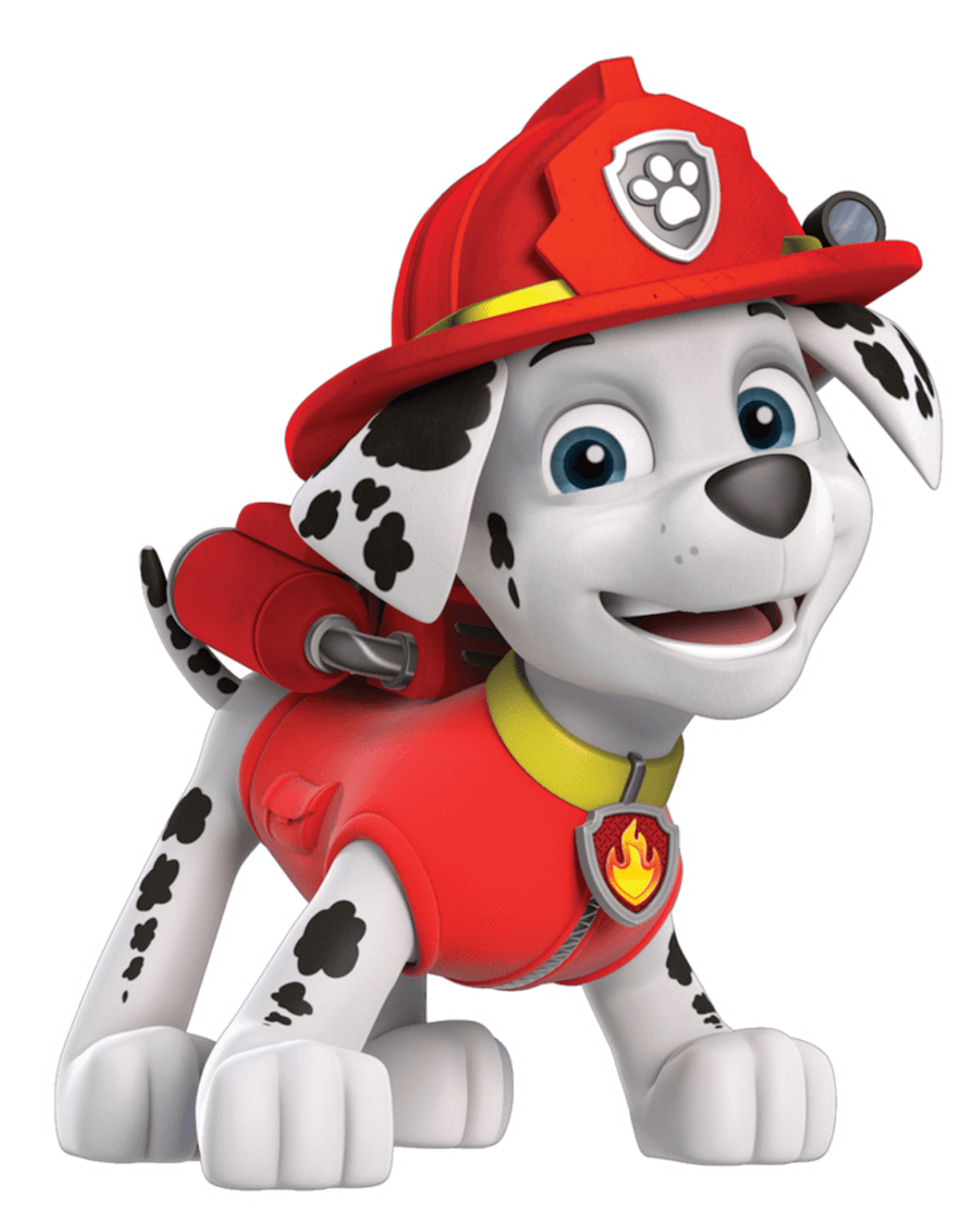 Paw patrol clip art jpg black and white library Marshall Smile Paw Patrol Clipart Png jpg black and white library