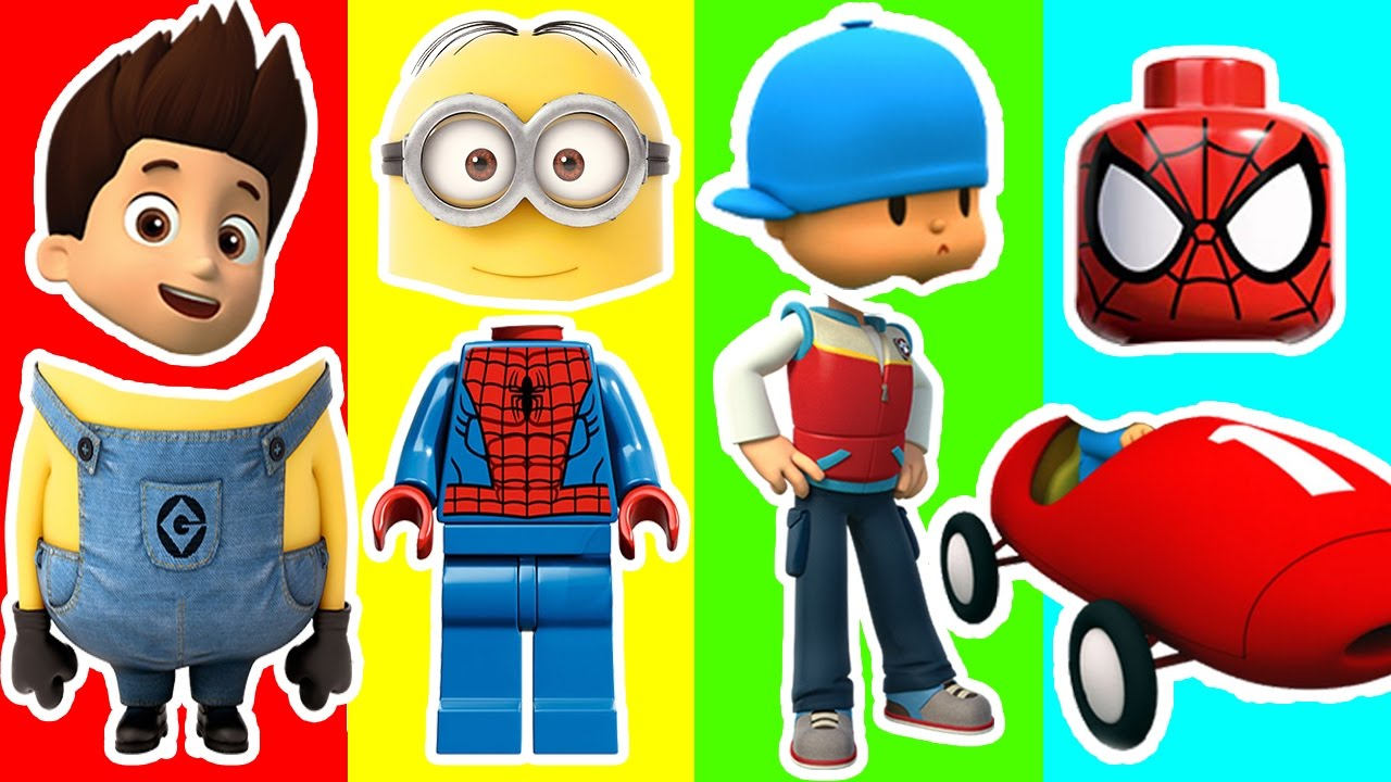 Clipart paw patrol disney princes graphic royalty free Wrong Heads Minions Paw Patrol Spiderman Pocoyo Disney Princess ... graphic royalty free