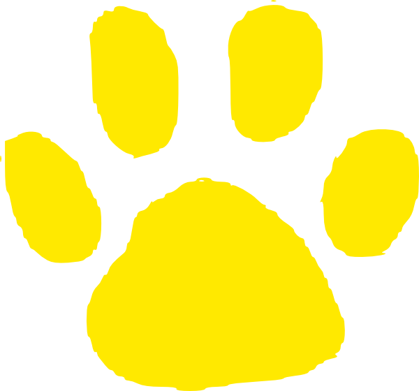 Clipart paw print cat image stock Paw clipart jaguar ~ Frames ~ Illustrations ~ HD images ~ Photo ... image stock