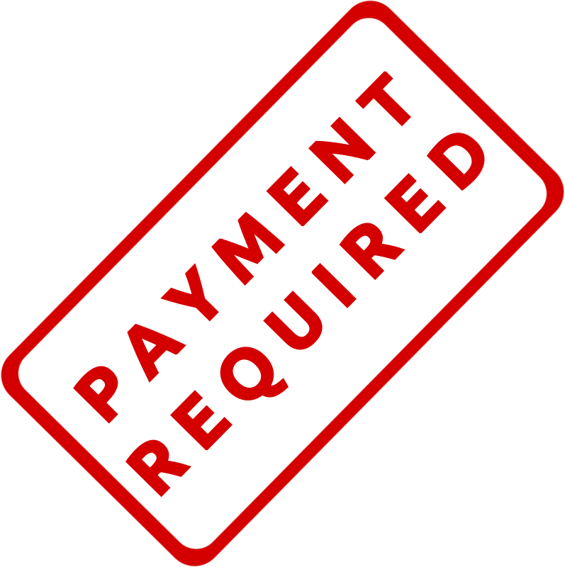 Clipart payment picture free library Free Clipart: Payment Required Business Stamp 1 | Merlin2525 picture free library