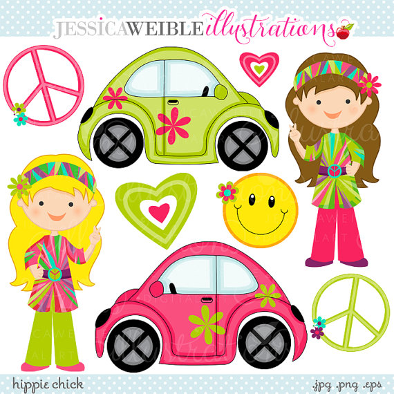 Peace Love And Girl Clipart - Clipart Kid svg black and white download