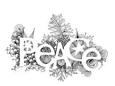 Peace on earth clipart black and white svg black and white download 25 Best Peace on Earth graphics images in 2015 | Peace on earth ... svg black and white download