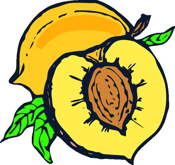 Clipart peach tree clip art royalty free stock Peach Clip Art at Clker.com - vector clip art online, royalty free ... clip art royalty free stock