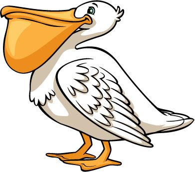 Clipart pelican banner library stock PELICAN CLIP ART | CLIP ART - BIRDS & BIRDHOUSES - CLIPART | Animal ... banner library stock