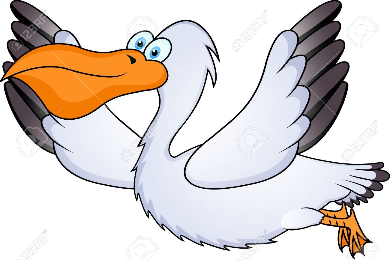 Clipart pelican image transparent Cartoon Pelican Clipart | Free download best Cartoon Pelican Clipart ... image transparent
