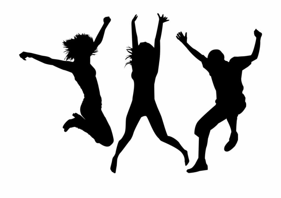 Clipart people celebrating picture library Silhouette-2419229 960 - Png People Celebrating Silhouette Free PNG ... picture library