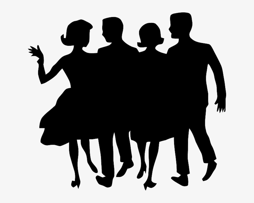 Clipart people dancing svg black and white library People, Dance, Dancing, Silhouette, Man, Woman, Party - People ... svg black and white library