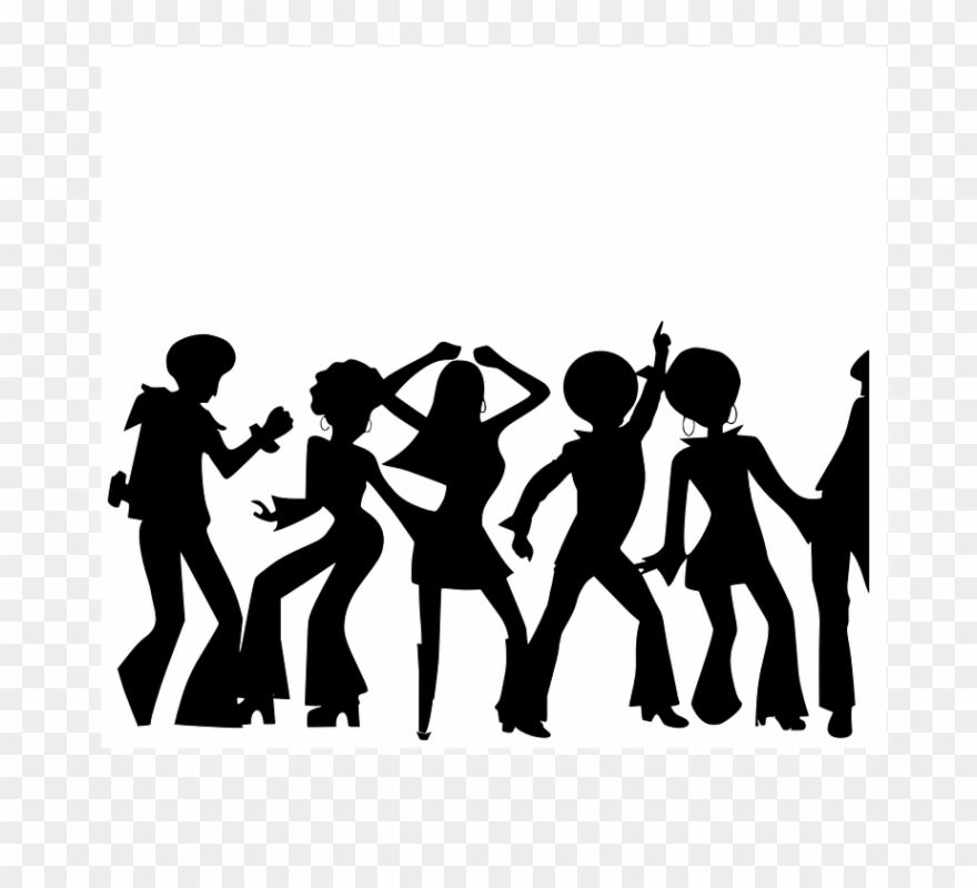 Clipart people dancing png library stock Dancing Clipart Family Dance - Party People Clipart - Png Download ... png library stock