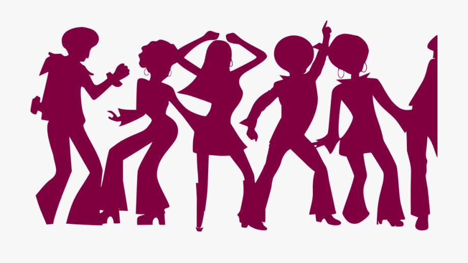 People dancing cliparts banner stock Dance People Violet Dancing Party Disco Sixties - People Dancing ... banner stock