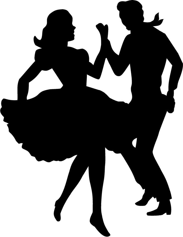 Clipart people dancing svg royalty free download Pin by Sue Maize on memories | Dance silhouette, People dancing ... svg royalty free download
