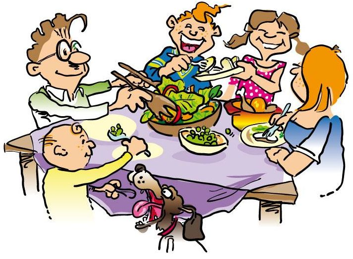 Clipart people eating picture freeuse download Group of people eating clipart 9 » Clipart Station picture freeuse download