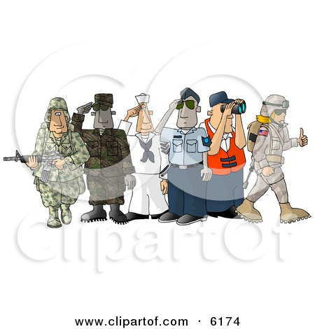 Clipart people of united states. Enlisted in the different